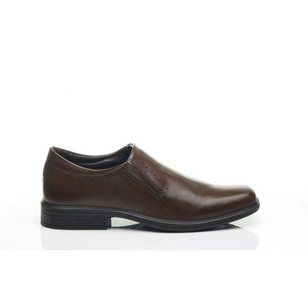 b4a9f4c523 Sapato Pegada Masculino em Couro Pinhão 124701-02 - pegada