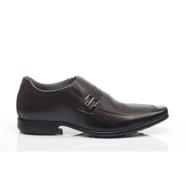 f693fa81ce Sapato Pegada Masculino em Couro Brown 122822-03 - pegada